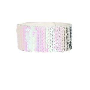 Pink/silver mermaid bracelet paparazzi